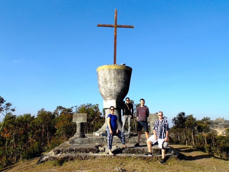 Exploring Timor-Leste's mountain regions with new friends