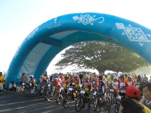 The Tour de Timor starting line