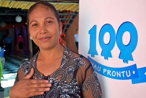 100% Hau Prontu campaign and workshop